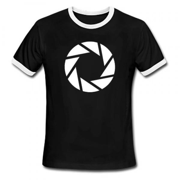 Tricou marimea XXL Portal 2 Aperture