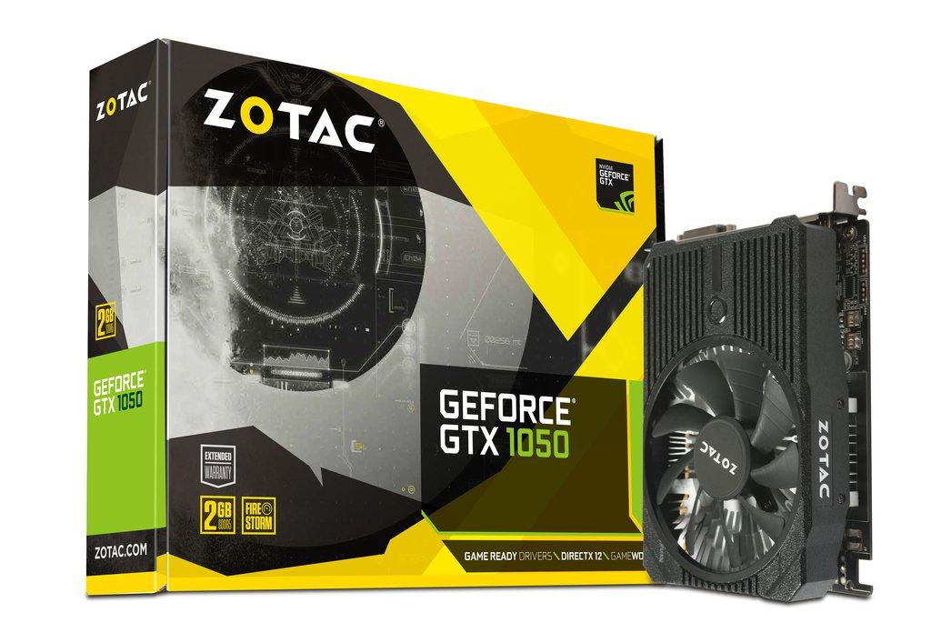 Placa Video Zotac nVidia GeForce GTX 1050 Mini 2GB GDDR5 128 biti