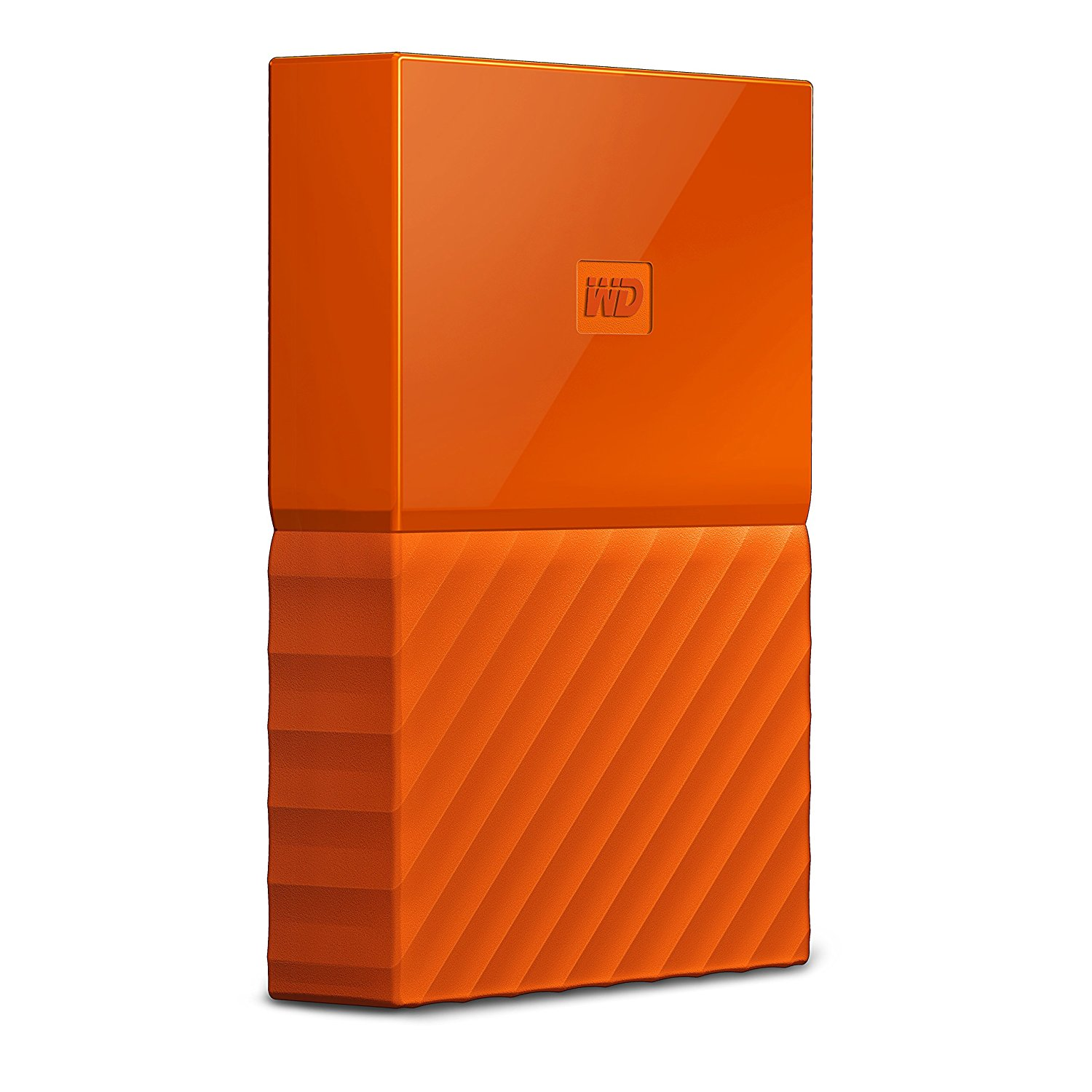 Hard Disk Extern Western Digital My Passport 3TB USB 3.0 Portocaliu