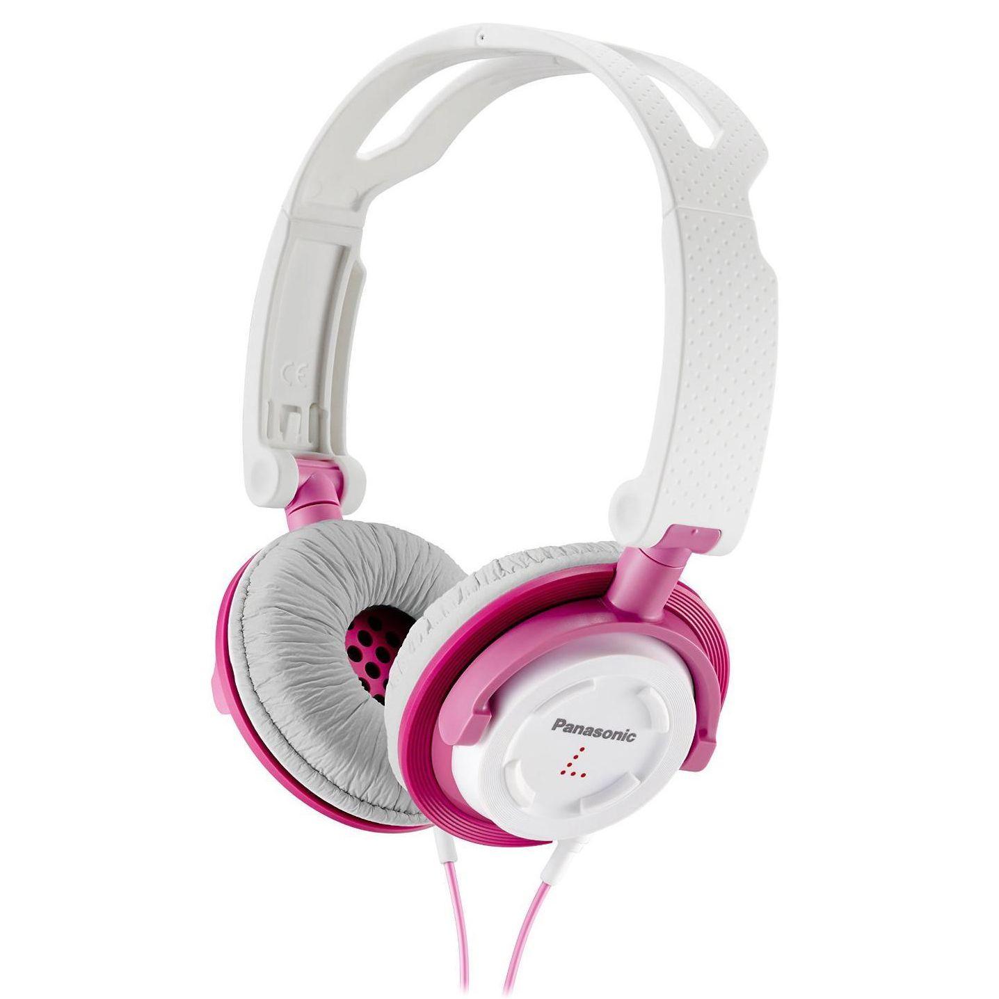 Casti Panasonic RP-DJS150E-P Alb-roz
