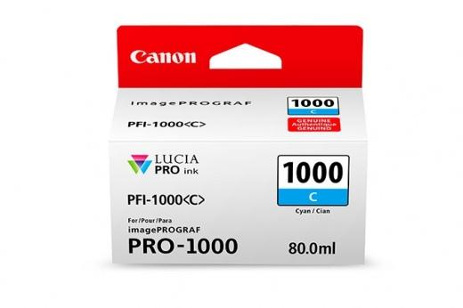 Cartus inkjet Canon PFI1000C Cyan