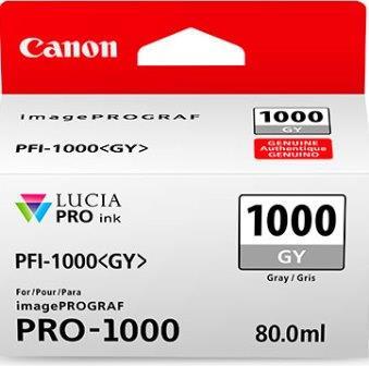 Cartus inkjet Canon PFI1000GY Grey