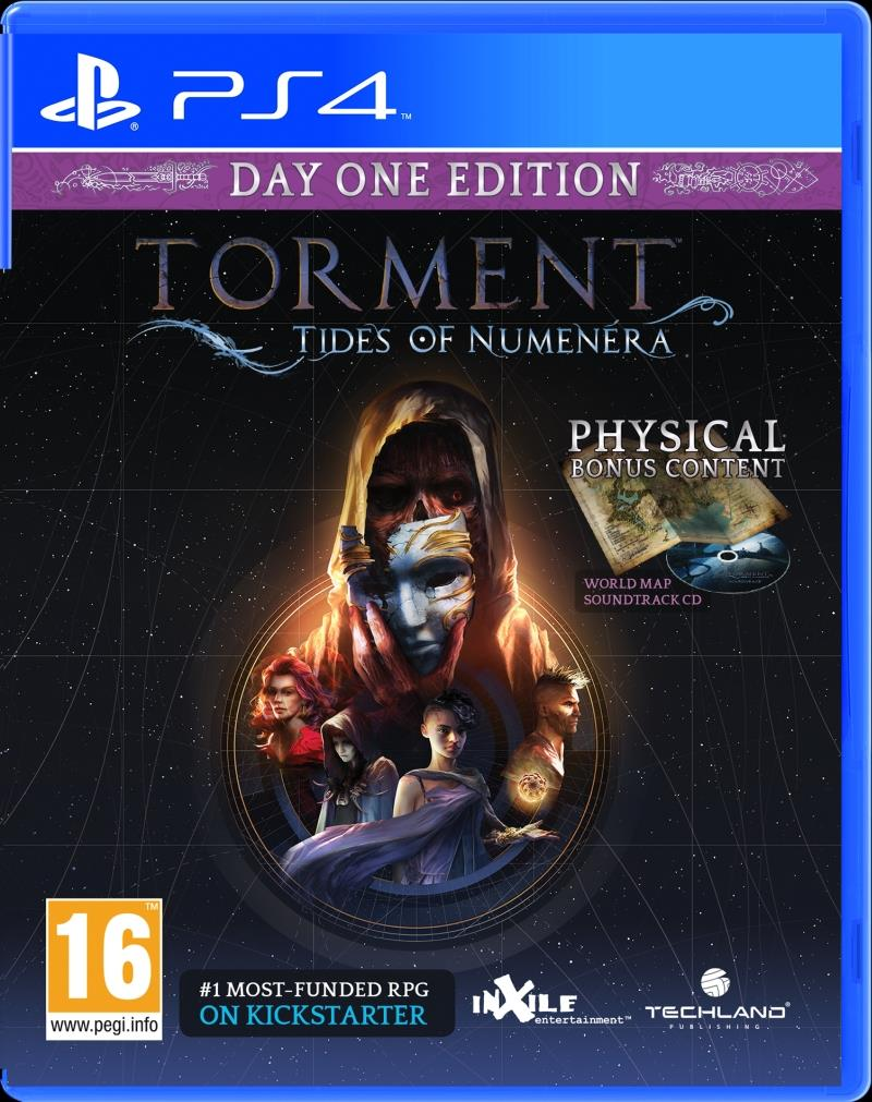 Torment Tides of Numenera PS4