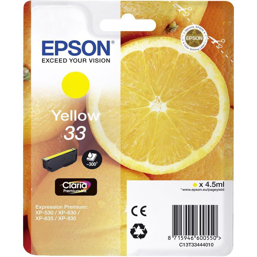 Cartus inkjet Epson T334 Yellow