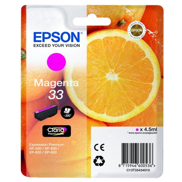 Cartus inkjet Epson T3343 Magenta