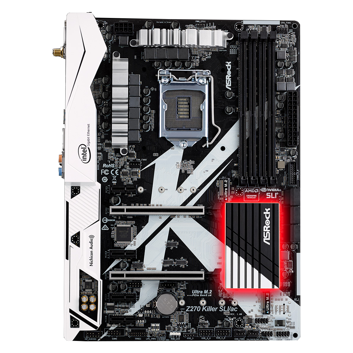 Placa de baza ASRock Z270 Killer SLI socket 1151