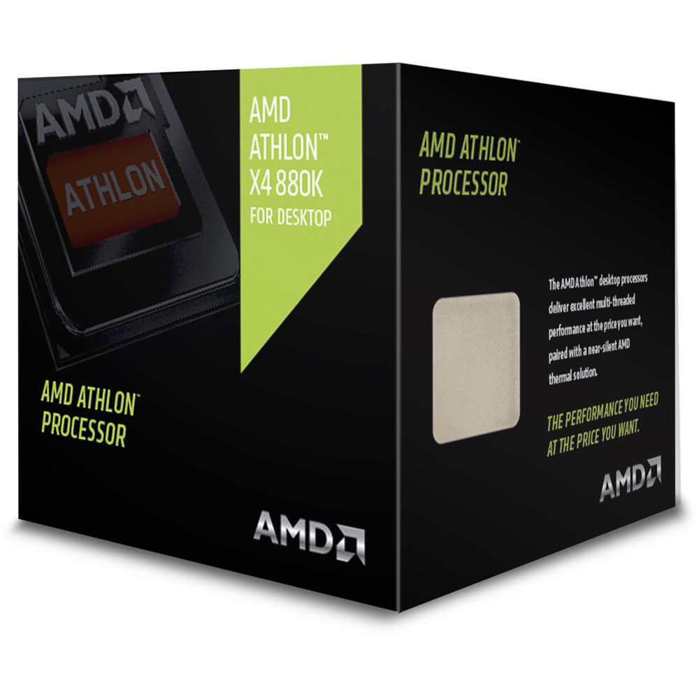 Procesor AMD Athlon X4-880K 4.0GHz 4MB Silent Thermal Solution box