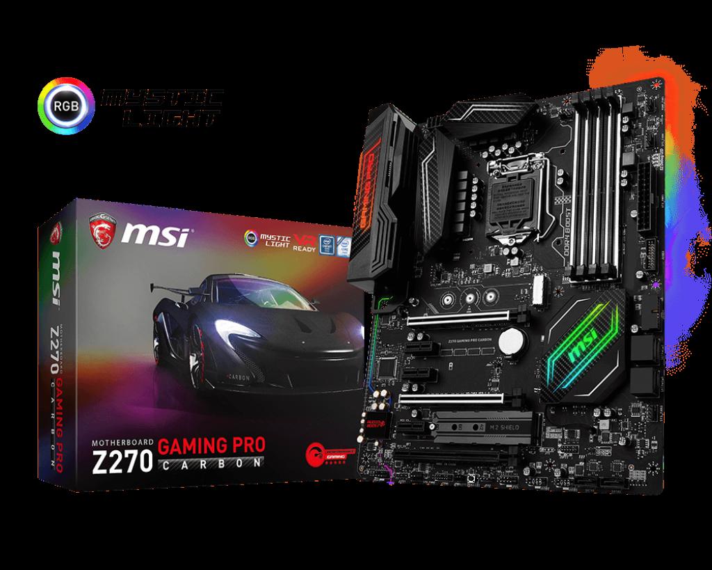 Placa de baza MSI Z270 Gaming Pro Carbon socket 1151