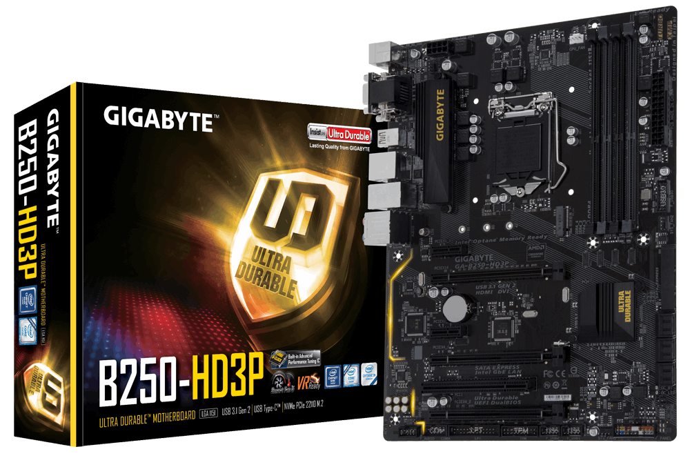 Placa de baza Gigabyte B250-HD3P socket 1151