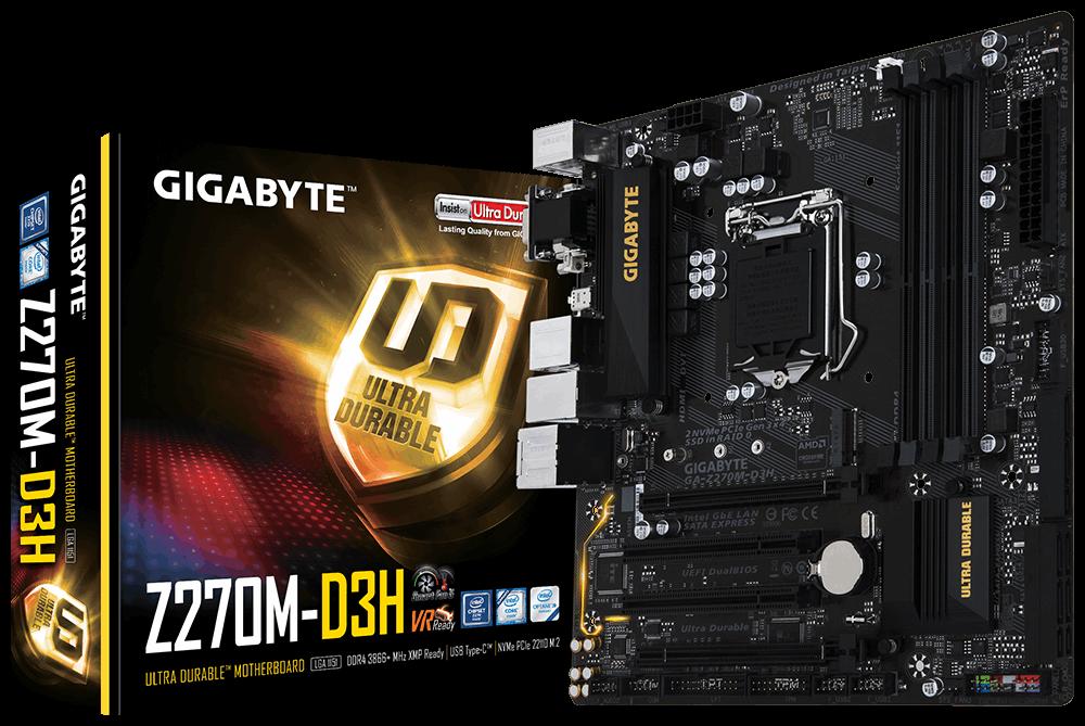 Placa de baza Gigabyte Z270M-D3H socket 1151