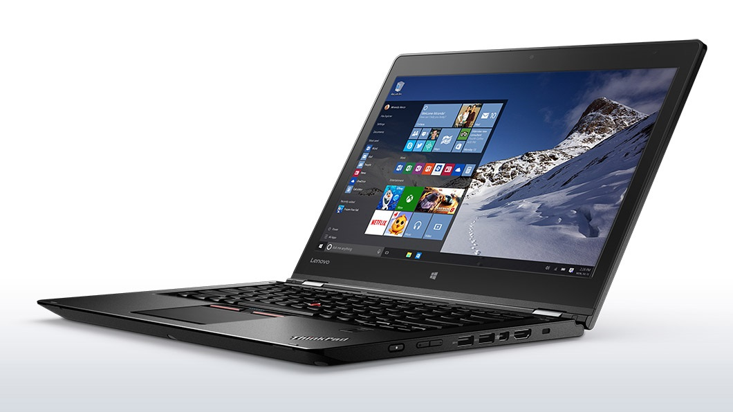 Ultrabook Lenovo ThinkPad P40 Yoga 14 Full HD Touch Intel Core i7-6500U M500M-2GB RAM 8GB SSD 256GB Windows 7 Pro / 10 Pro Negru
