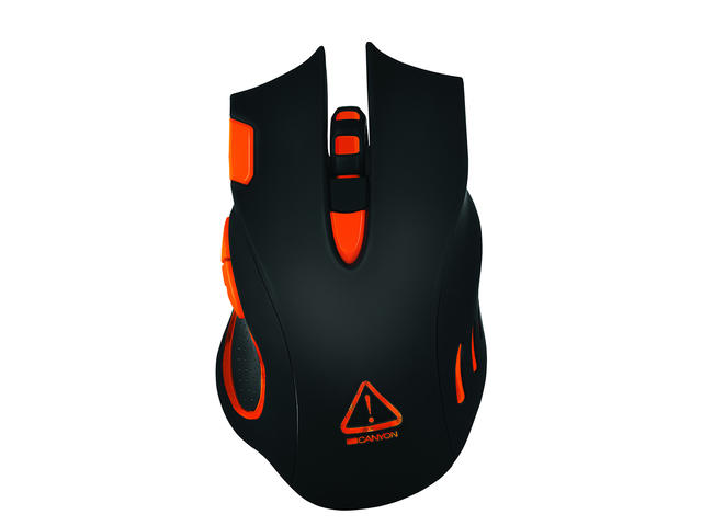 Mouse Gaming Wireless Canyon CND-SGM5N Black