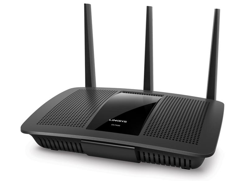 Router Linksys EA7500 MAX-STREAM AC1900 MU-MIMO GIGABIT WI-FI