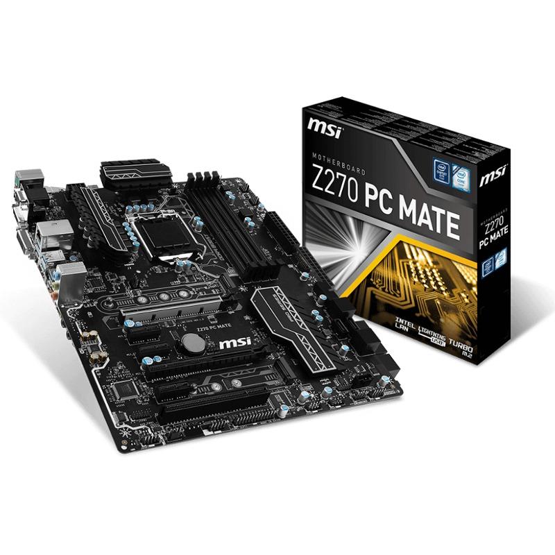Placa de baza MSI Z270 PC Mate socket 1151