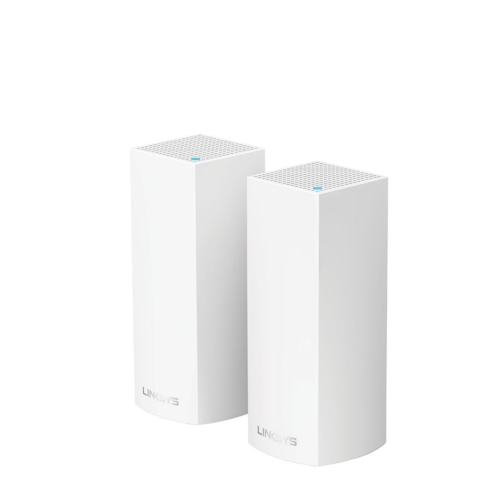 Sistem Wi-Fi Linksys Velop Tri-Band AC2200 2 noduri 2xGigabit WAN sau LAN