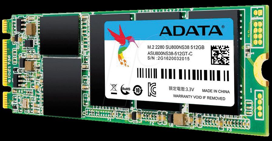 Hard Disk SSD A-Data Ultimate SU800 512GB M.2 2280