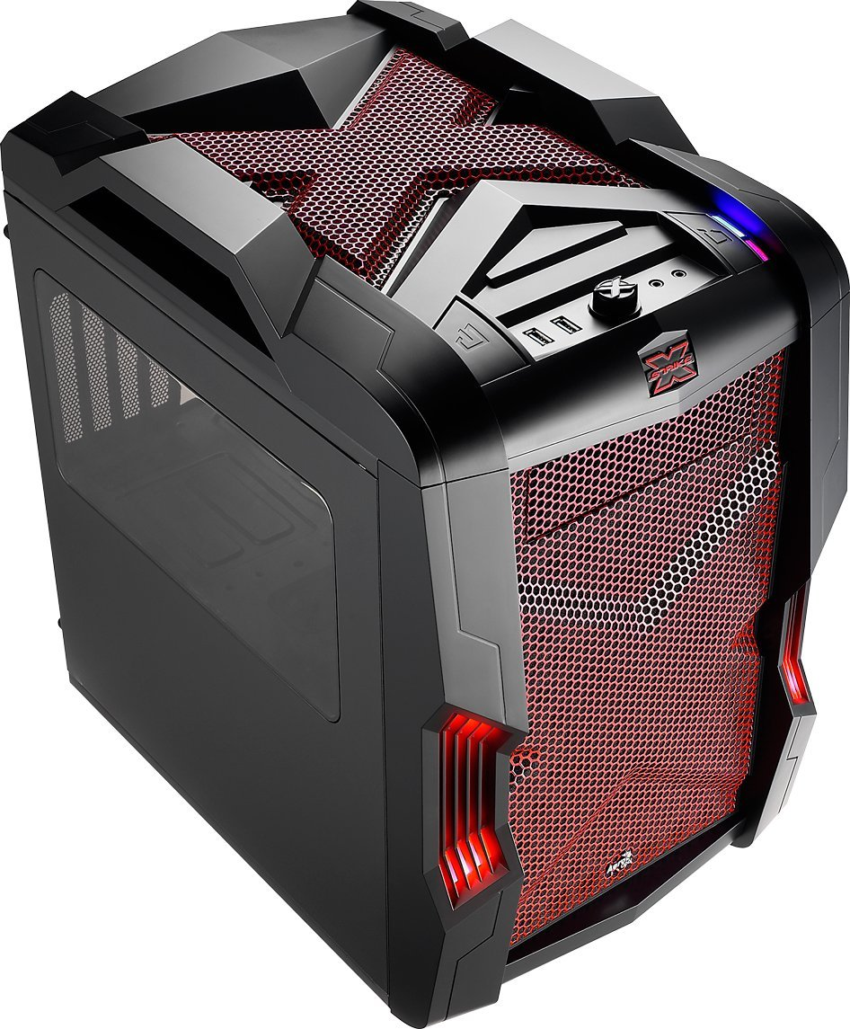 Carcasa PC Aerocool STRIKE-X CUBE Red
