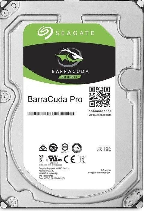 Hard Disk Desktop Seagate BarraCuda Pro 4TB 7200RPM 128MB SATA III