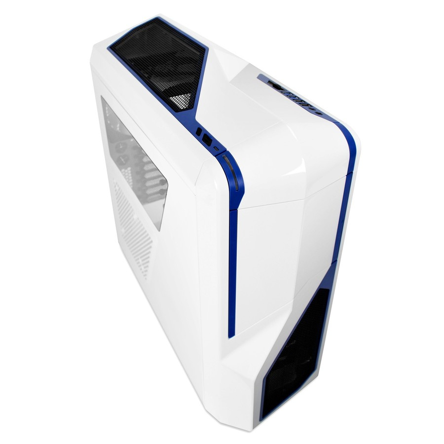 Carcasa PC NZXT Phantom 410 White/Blue
