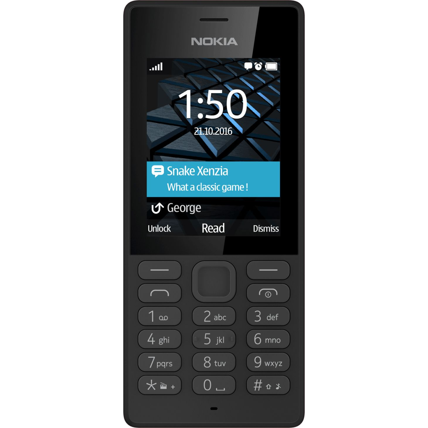 Telefon Mobil Nokia 150 Dual SIM Black