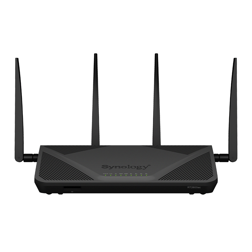 Router Synology RT2600ac Dual WAN Gigabit Server VPN
