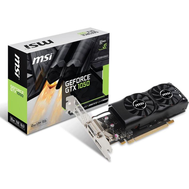 Placa Video MSI GeForce GTX 1050 2GT LP 2GB GDDR5 128 biti