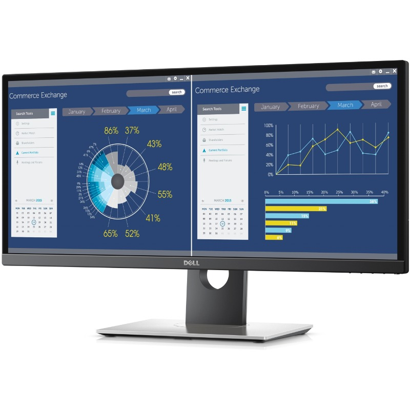 Monitor LED Dell U2917W 28.8 21:9 5ms Negru