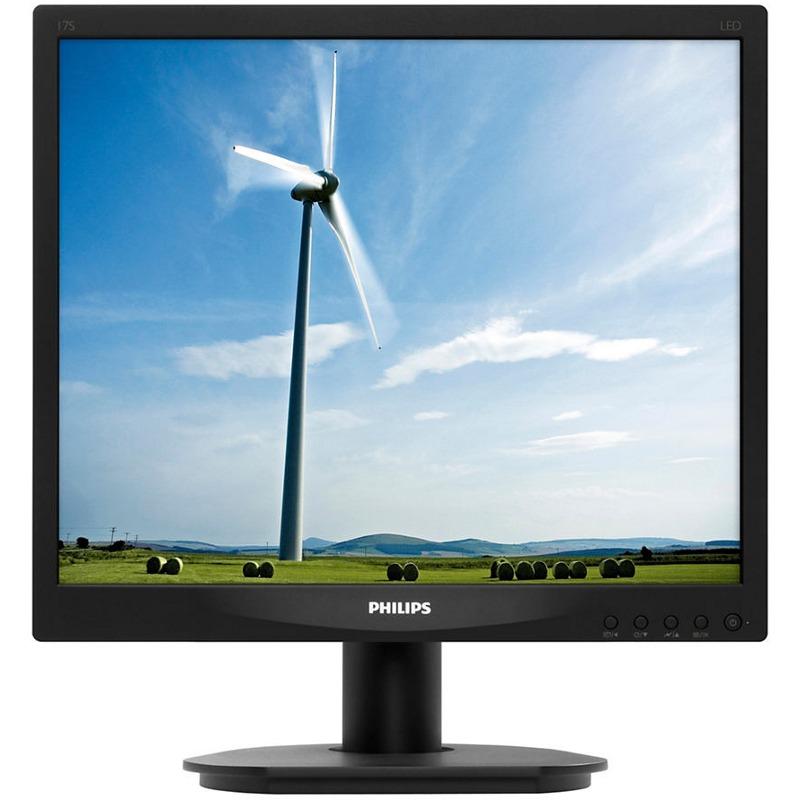 Monitor LED Philips 17S4LSB 17 5ms Negru