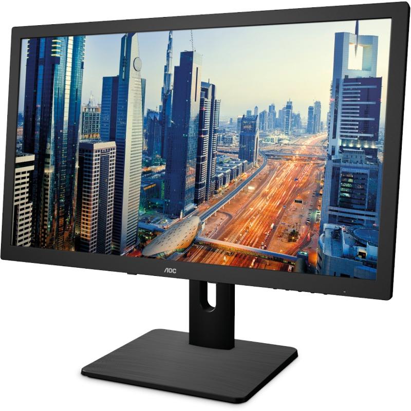 Monitor LED AOC I2375PQU 23 16:9 4ms Negru