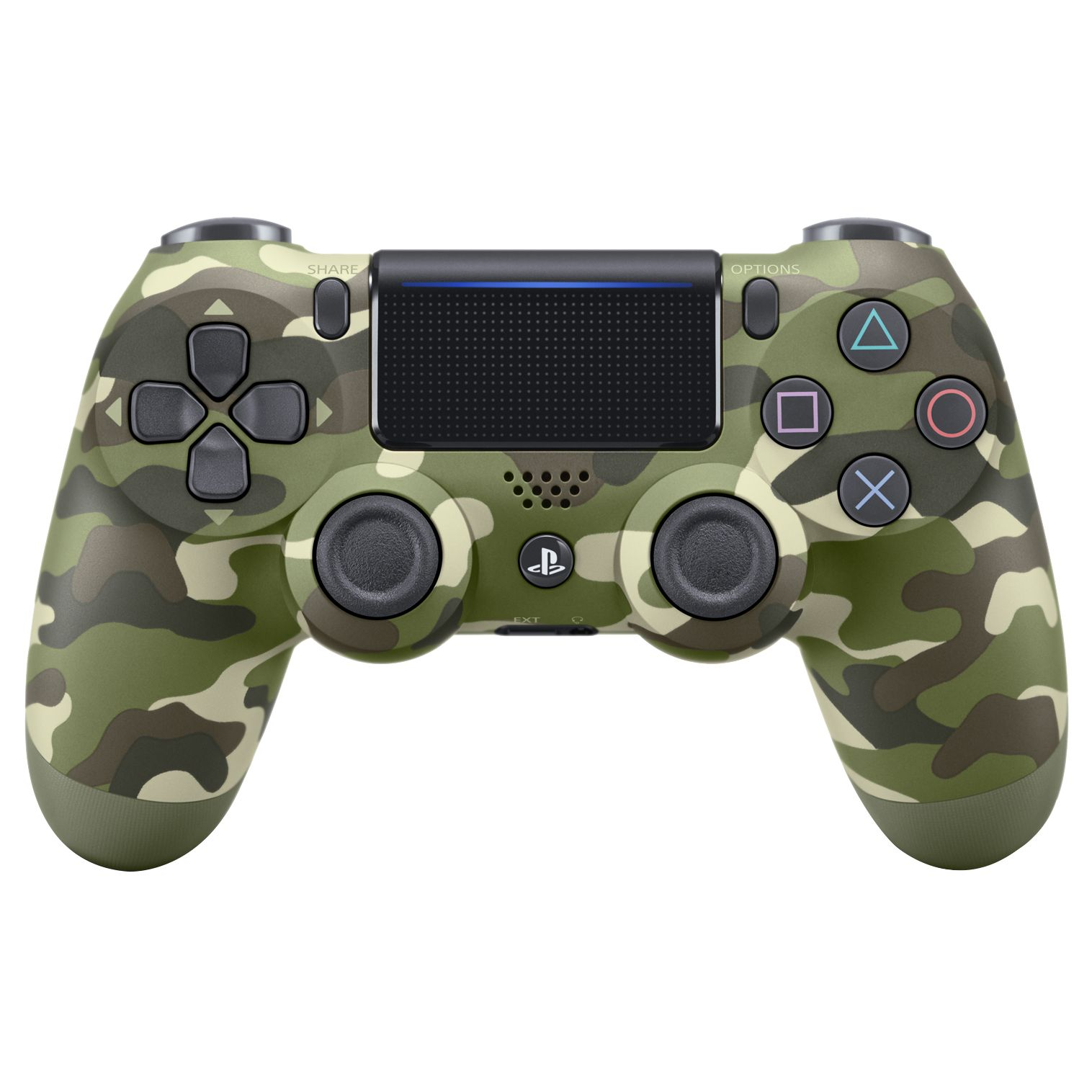 Controller Sony PlayStation 4 DualShock 4 v2 Green Cammo