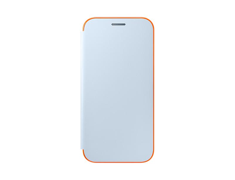 Husa Samsung Neon Flip Cover pentru Galaxy A5 2017 (A520) Albastru