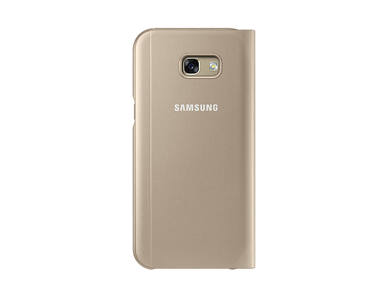 Husa Samsung S-View Cover pentru Galaxy A5 2017 (A520) Auriu