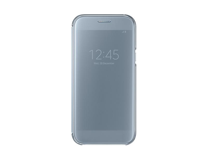 Husa Samsung Clear View pentru Galaxy A5 2017 (A520) Albastru