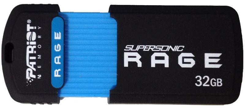 Flash Drive Patriot Supersonic Rage USB 3.1 Gen.1 32GB