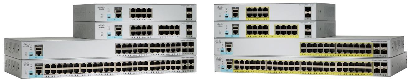 Switch Cisco Catalyst 2960-L cu management L2 24x1000Mbps-RJ45 4xSFP