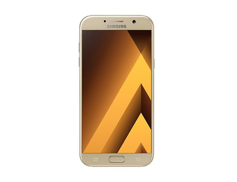 Telefon Mobil Samsung A720 Galaxy A7 (2017) 32GB Flash 3GB RAM Dual SIM 4G Gold Sand