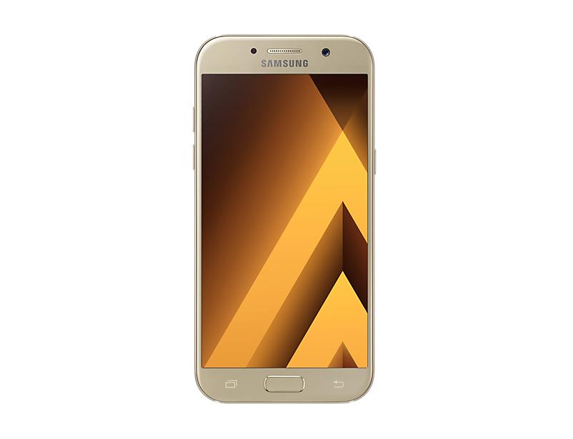 Telefon Mobil Samsung A520 Galaxy A5 (2017) 32GB Flash 3GB RAM Dual SIM 4G Gold Sand DESIGILAT
