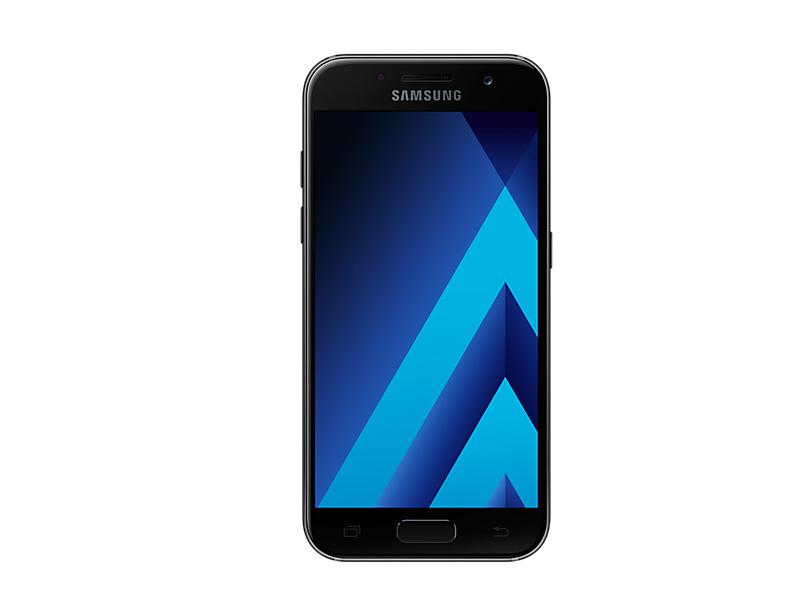Telefon Mobil Samsung A320 Galaxy A3 (2017) 16GB Flash 2GB RAM Dual SIM 4G Black Sky