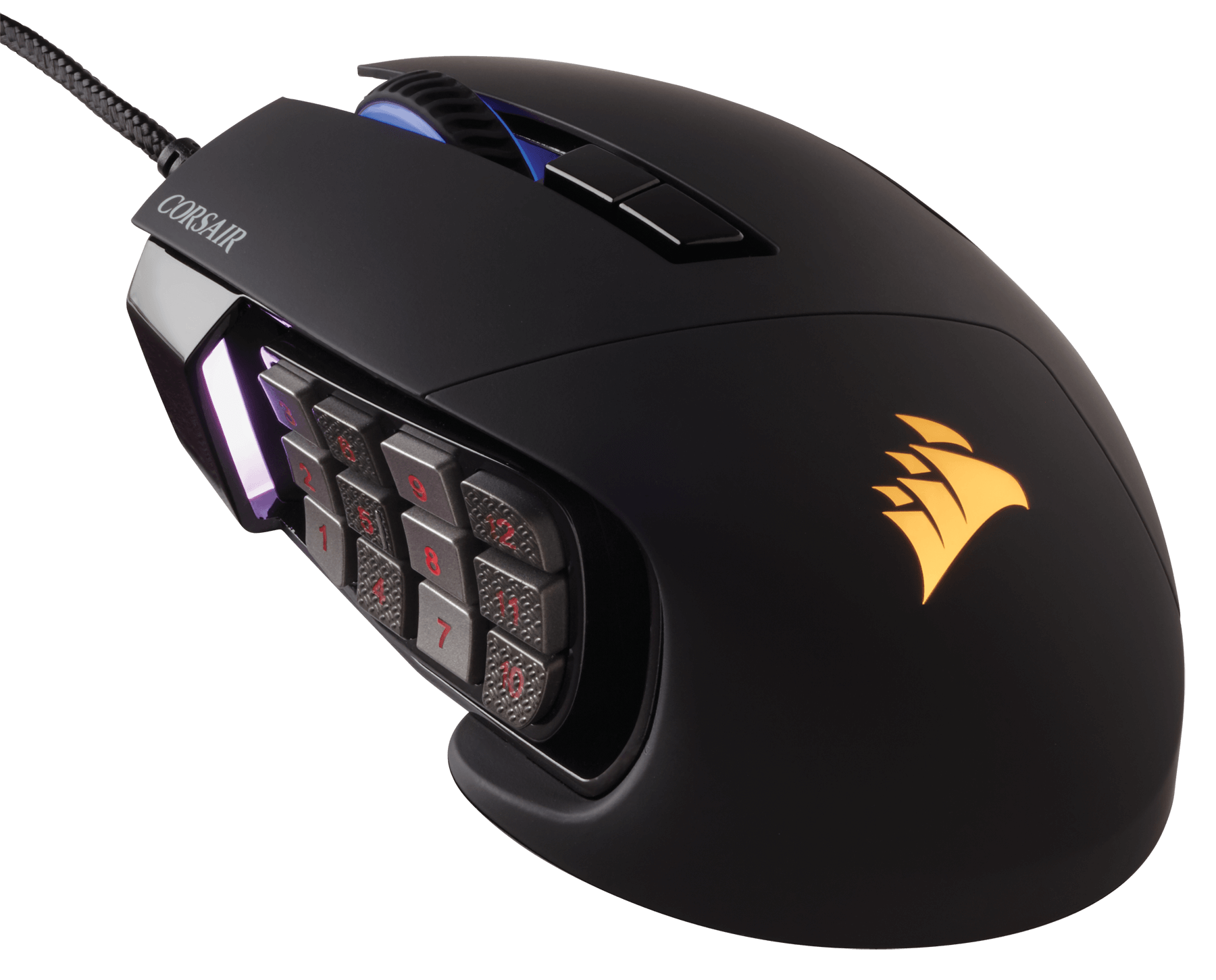 Mouse Gaming Corsair Scimitar PRO RGB Moba Black