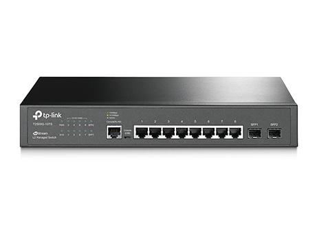 Switch Tp-Link JetStream cu management L2 8x1000Mbps-RJ45 2xSFP fara PoE