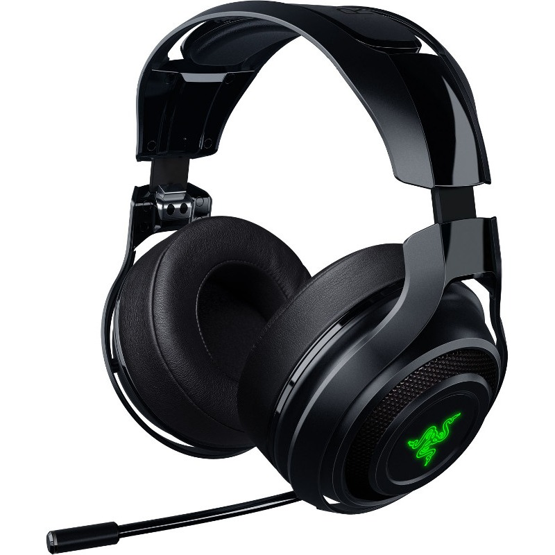 Casti Gaming cu microfon Razer ManOWar Wireless