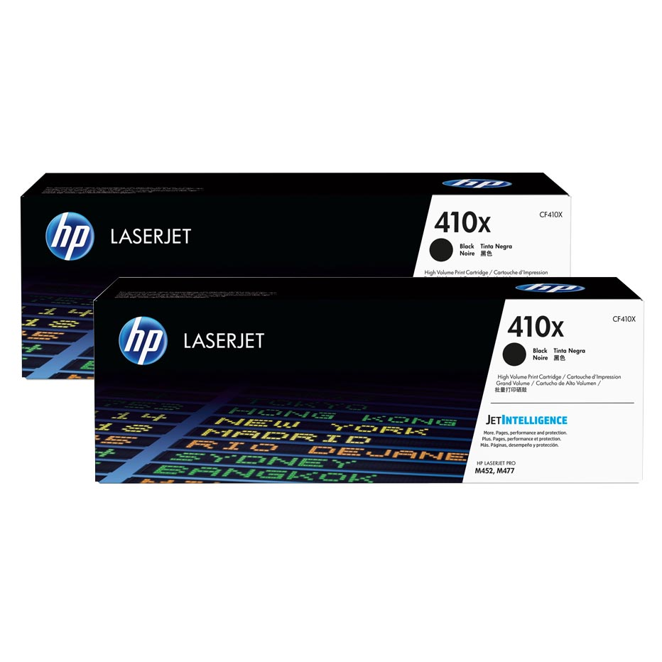 Cartus toner HP 410X 2-Pack Black