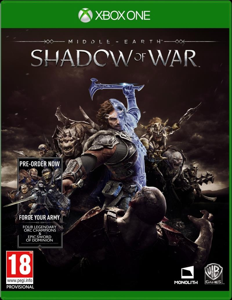Middle Earth Shadow Of War - Xbox One