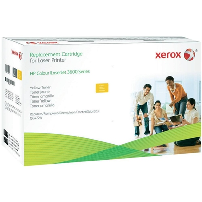 Cartus toner compatibil Xerox 003R99753 Yellow HP Q6472A