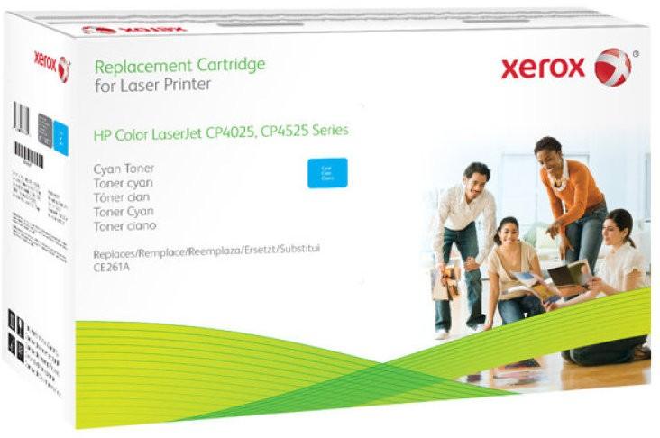 Cartus toner compatibil Xerox 106R02217 Cyan HP CE261A