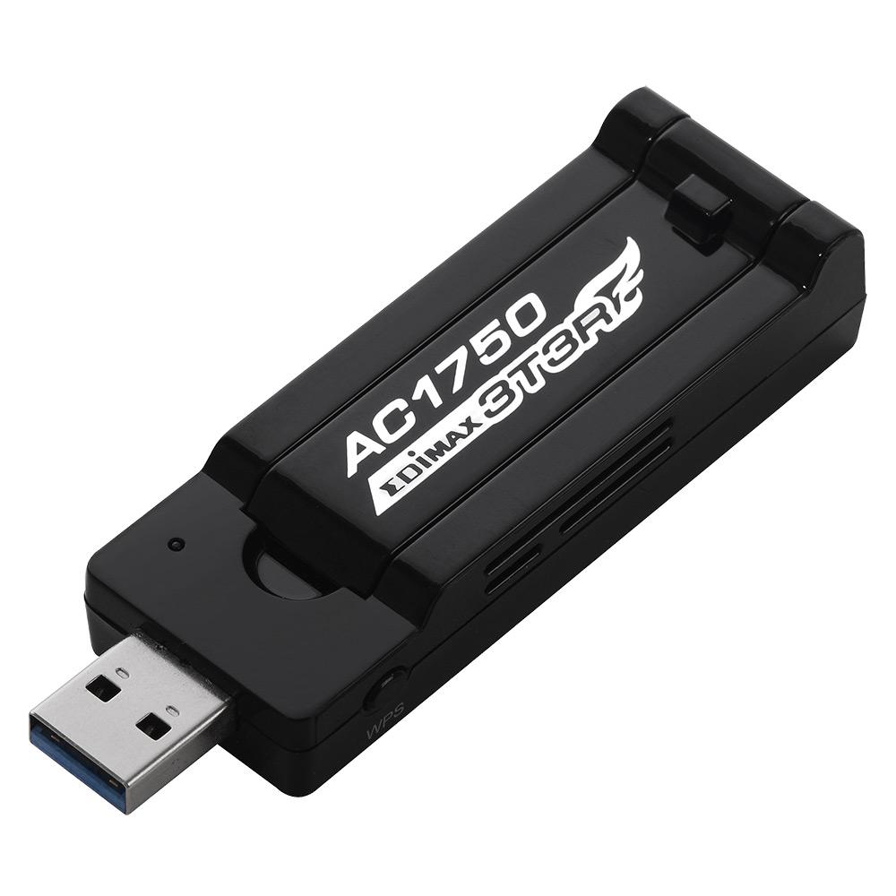 Placa de retea Edimax EW-7833UAC interfata calaculator: USB rata de tranfer pe retea: 802.11ac-1750M