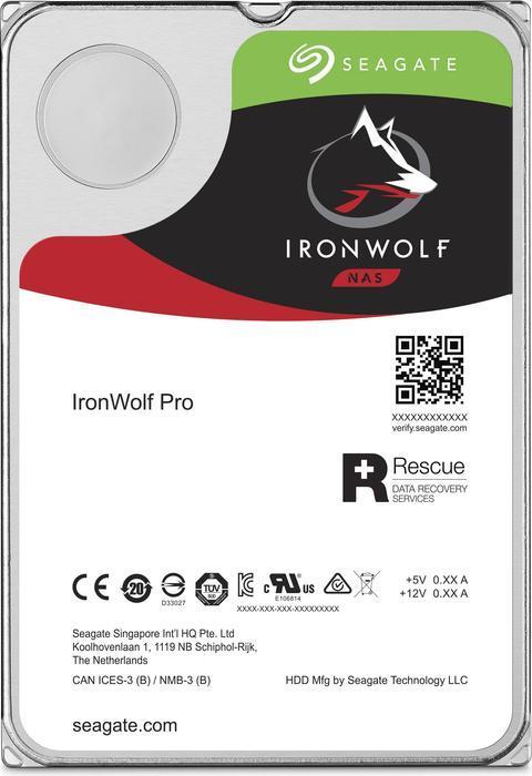Hard Disk Desktop Seagate IronWolf Pro 3.5 8TB 256MB SATA III