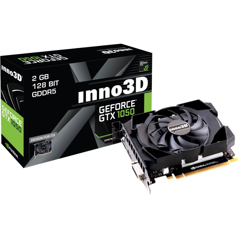 Placa Video Inno3D GeForce GTX 1050 Compact 2GB GDDR5 128 biti