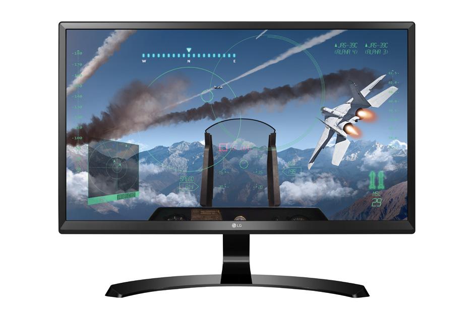 Monitor LED LG 24UD58-B 23.8 4K 5ms Black