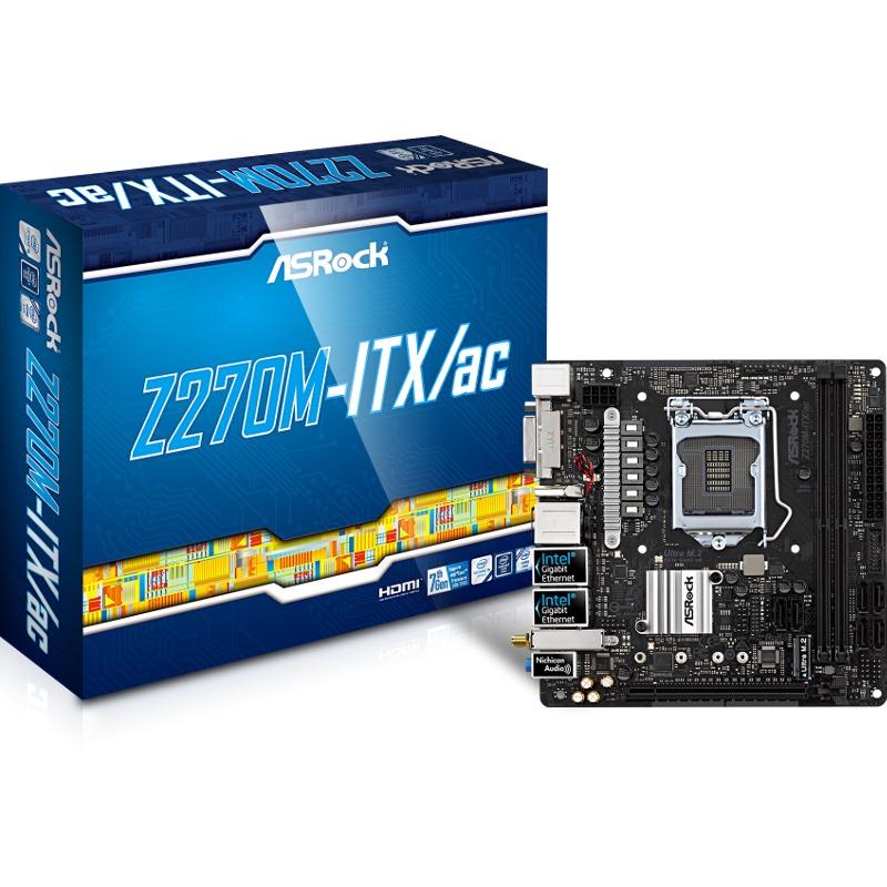 Placa de baza ASRock Z270M-ITX/ac socket 1151